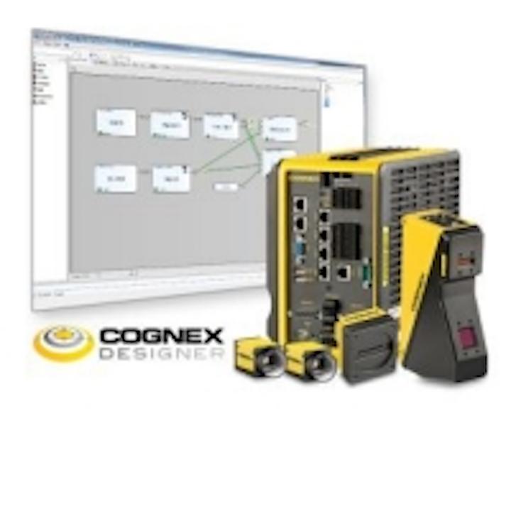 Cognex to showcase Vision Designer Software for multi-camera