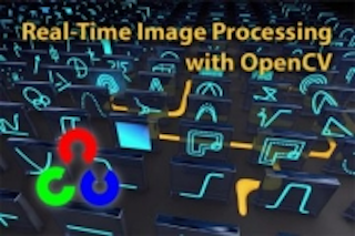 Image processing library runs in real time via OpenCV