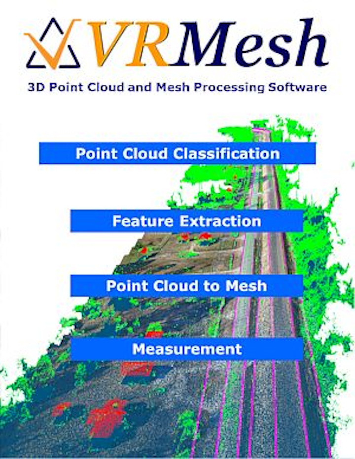3D point cloud and mesh processing software from VirtualGrid