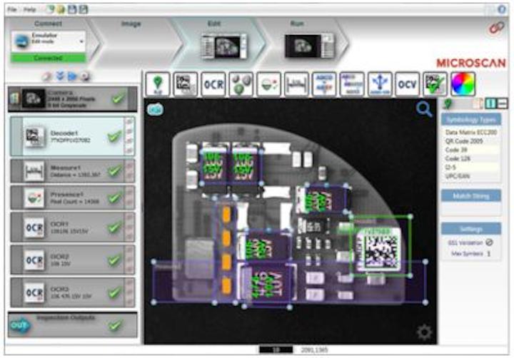 Latest version of AutoVISION machine vision software