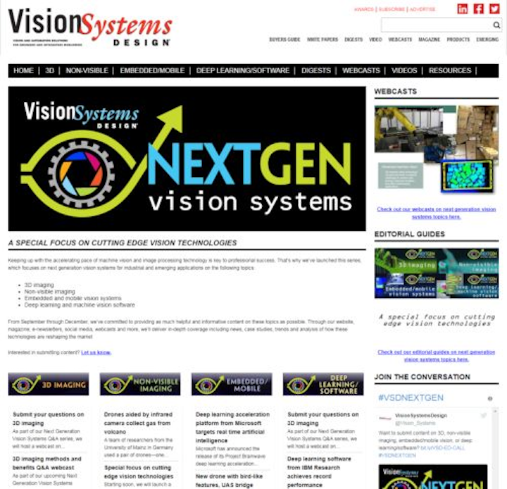Content Dam Vsd En Articles 2017 08 Next Generation Vision Systems Content Focus Officially Launched By Vision Systems Design Leftcolumn Article Thumbnailimage File