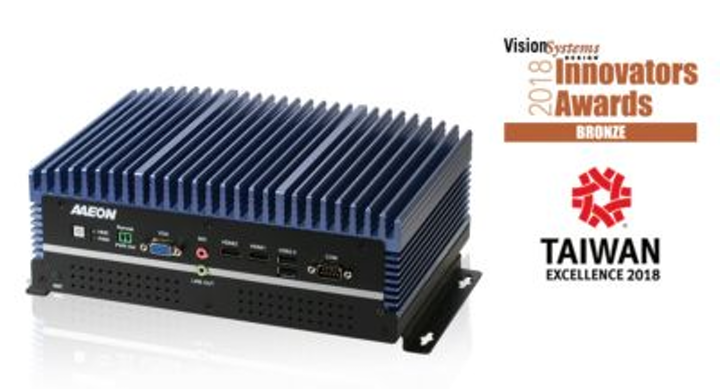 Content Dam Vsd En Articles 2018 05 Aaeon Honored By Vision Systems Design 2018 Innovators Awards Program Leftcolumn Article Headerimage File