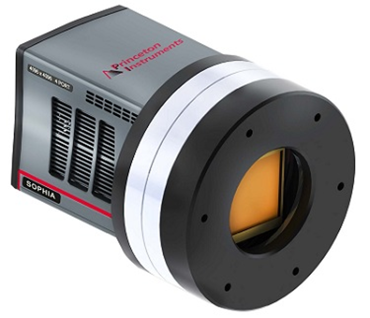 Low-noise CCD cameras from Princeton Instruments feature