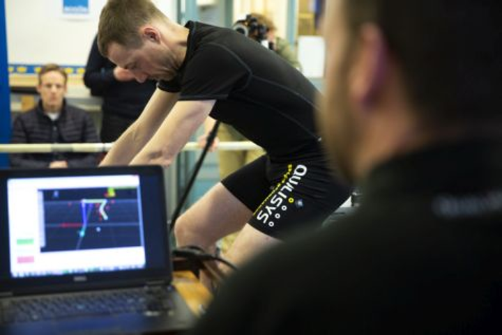 Motion capture system provides analysis for cycling and
