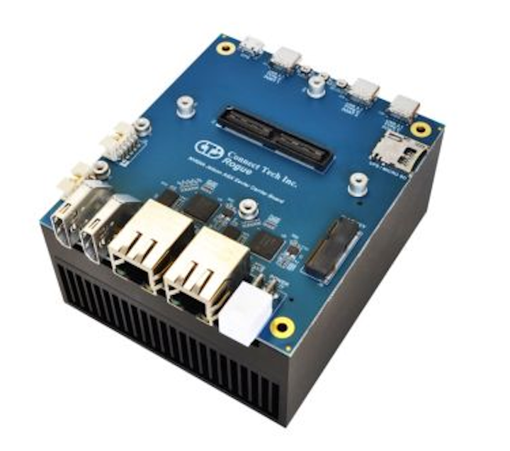 Carrier and adapter for NVIDIA Jetson AGX Xavier from