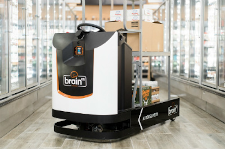 Brain Corp Autodelivery Robot
