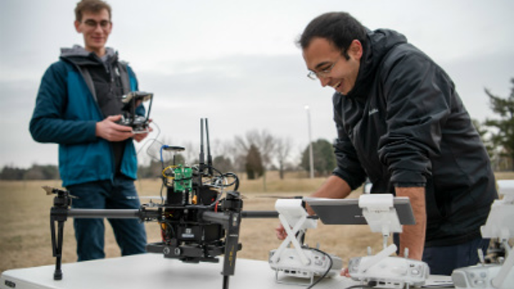Virginia Tech Search And Rescue Drones