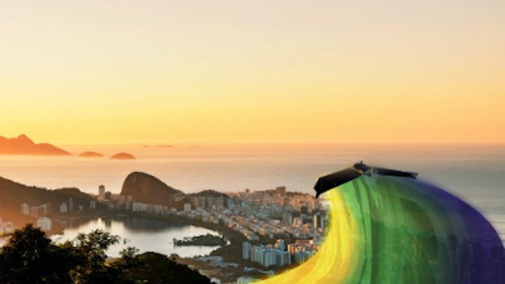 Sensefly Ebeex Flying Over Brazil