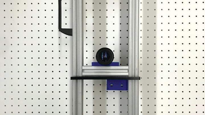 Figure 1: Two ML750ST projectors combine with a machine vision camera to create a scanner capable of acting as a 3D structured light system.