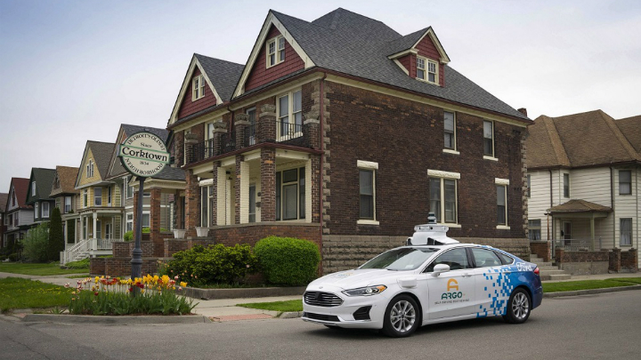 Argo Ai Ford Third Generation Self Driving Test Vehicle