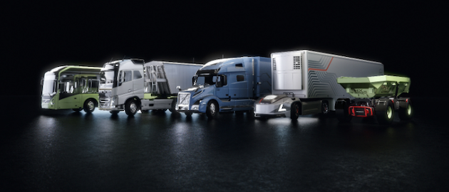 Nvidia Volvo Group Line Up