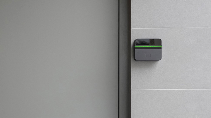 With the Alcatraz access control system, employees can keep walking and get authenticated as they go.