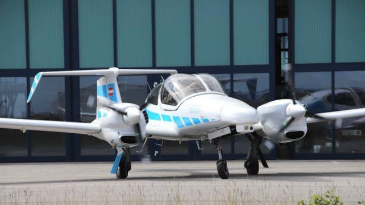 Diamond Da42 C2 Land Test Aircraft