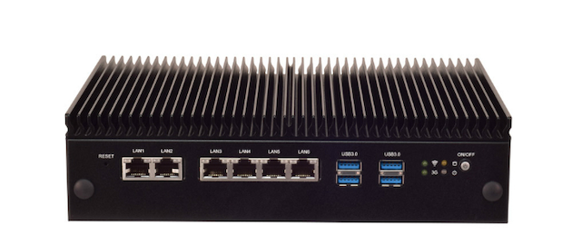 Lanner Lec 2580 Industrial Computer Ports
