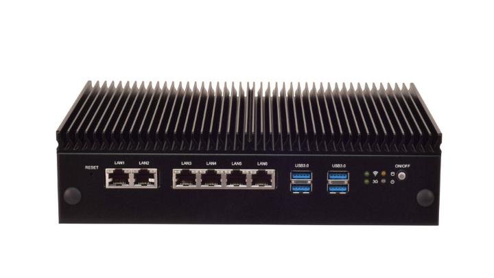 Lanner Lec 2580 Industrial Computer Ports