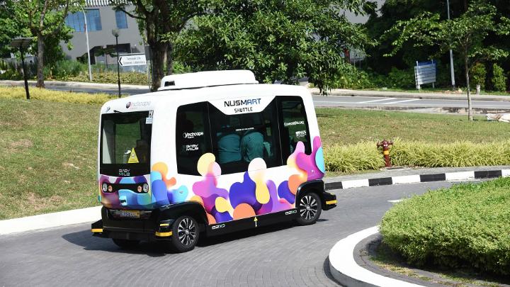 Nu Smart Shuttle National University Of Singapore