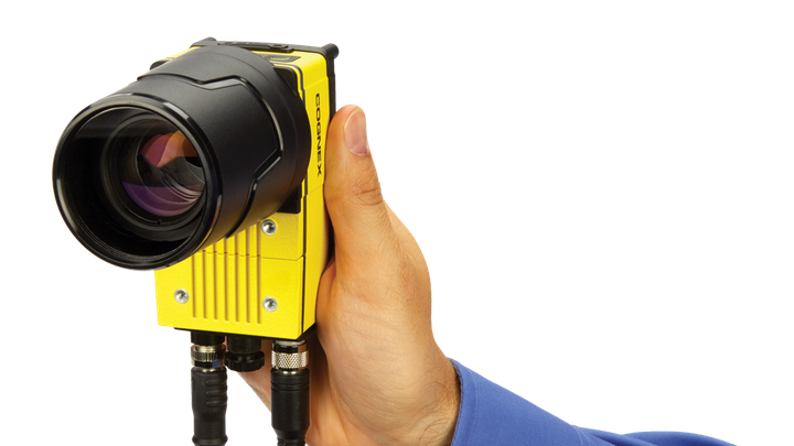 Figure 1: With a 12 MPixel CMOS image sensor, the In-Sight 9912 camera targets applications requiring the detection of smaller features in images, imaging large parts, or both.